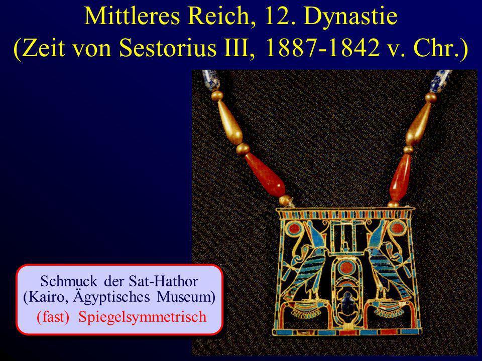 Mittleres Reich, 12. Dynastie (Zeit von Sestorius III, 1887-1842 v. Chr.)