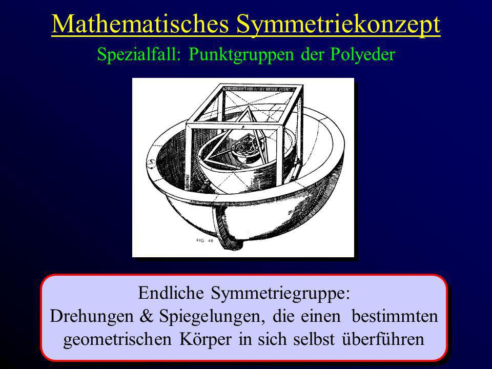 Mathematisches Symmetriekonzept