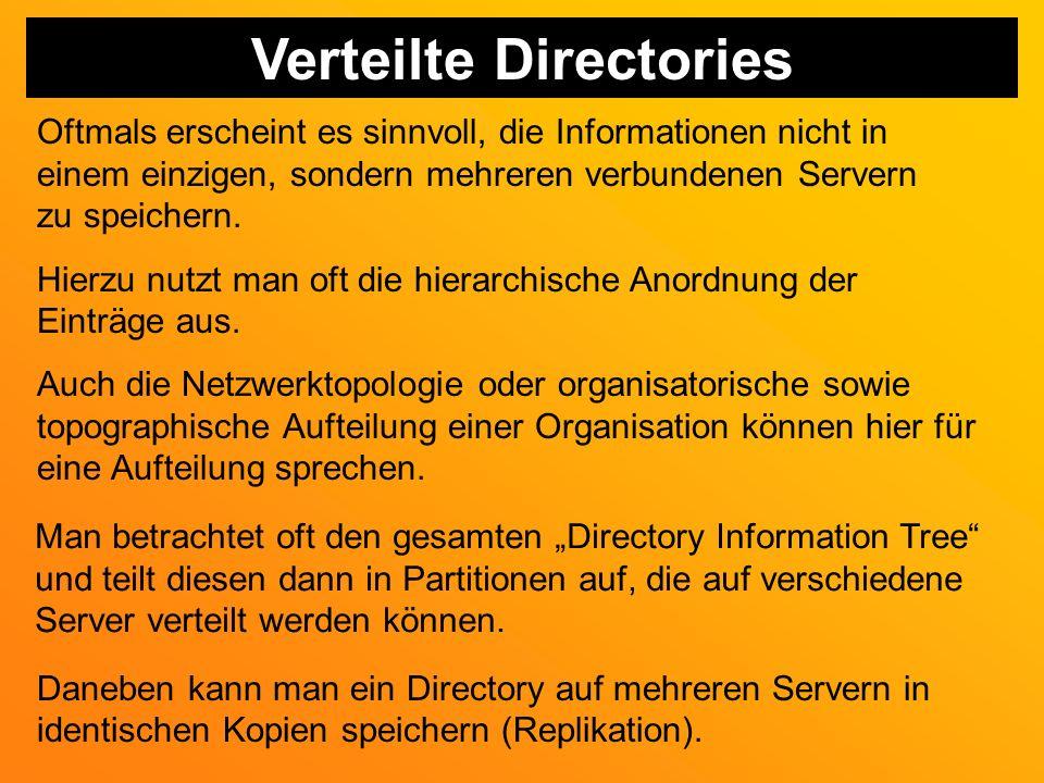 Verteilte Directories