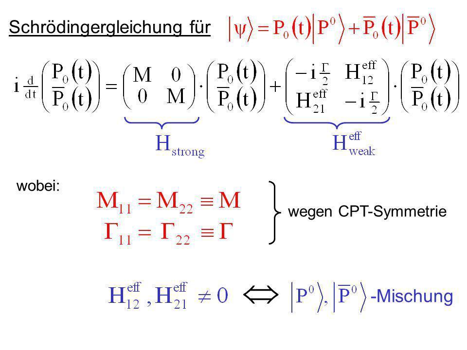 Schrödingergleichung für
