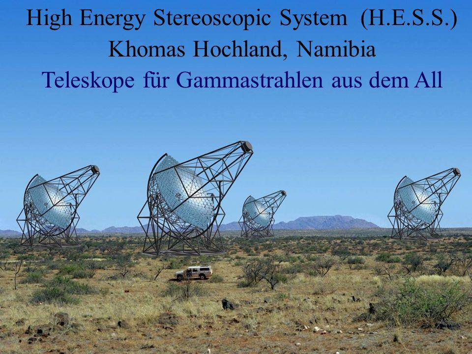 High Energy Stereoscopic System (H.E.S.S.) Khomas Hochland, Namibia