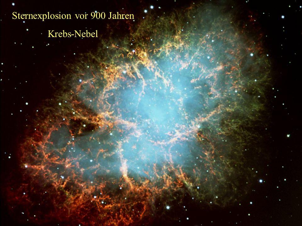 Sternexplosion vor 900 Jahren
