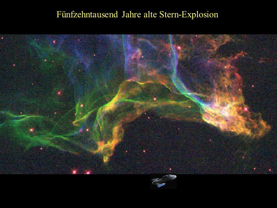 Fünfzehntausend Jahre alte Stern-Explosion