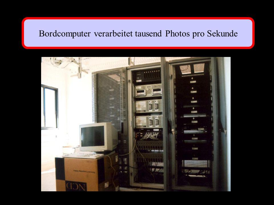 Bordcomputer verarbeitet tausend Photos pro Sekunde