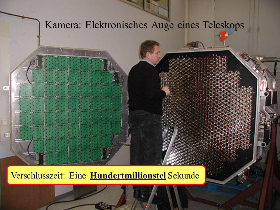Kamera: Elektronisches Auge eines Teleskops