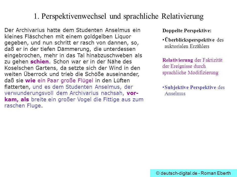 1. Perspektivenwechsel und sprachliche Relativierung