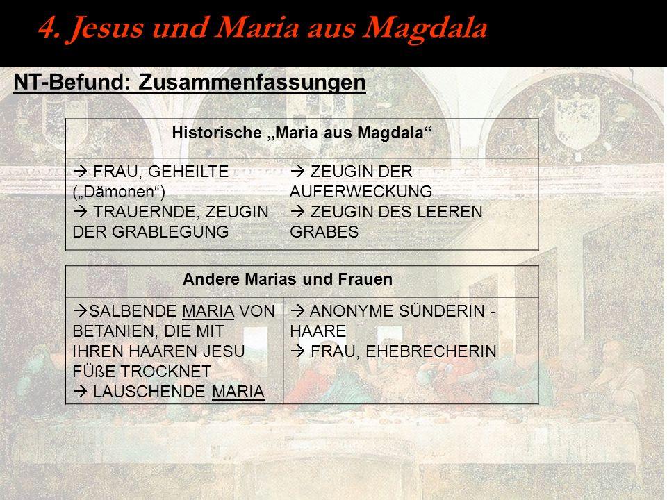 "Historische ""Maria aus Magdala"