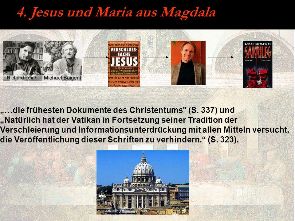 4. Jesus und Maria aus Magdala