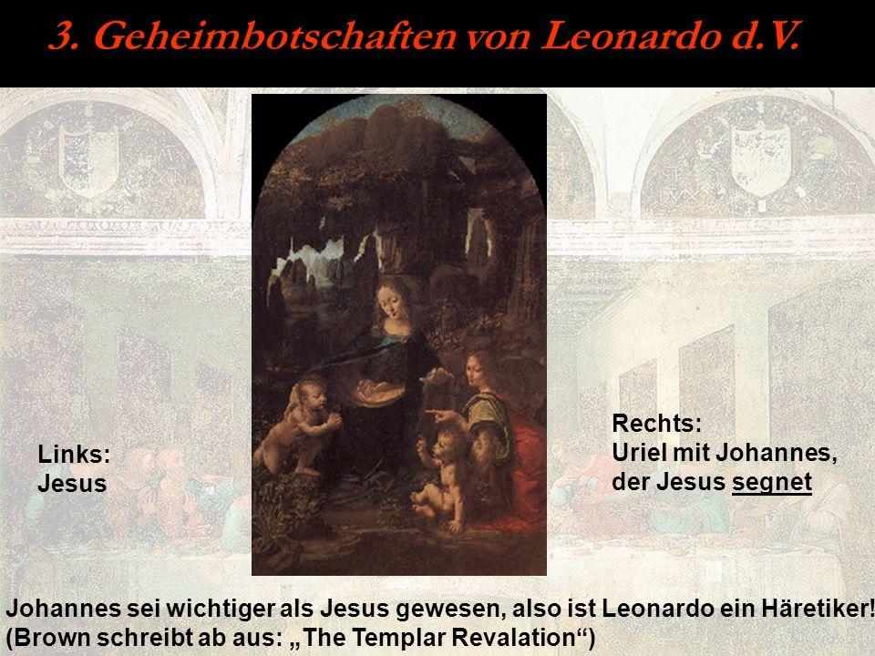 3. Geheimbotschaften von Leonardo d.V.