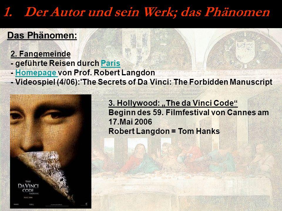 Der Autor und sein Werk; das Phänomen