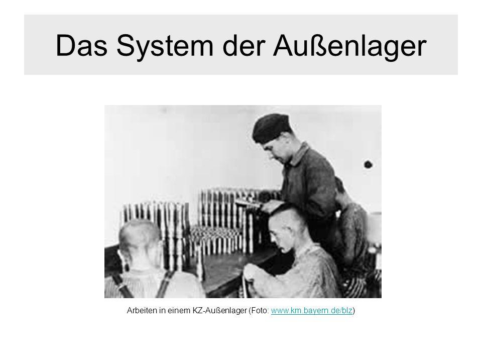 Das System der Außenlager
