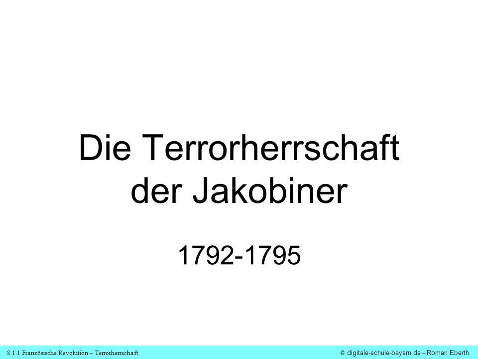 Die Terrorherrschaft der Jakobiner