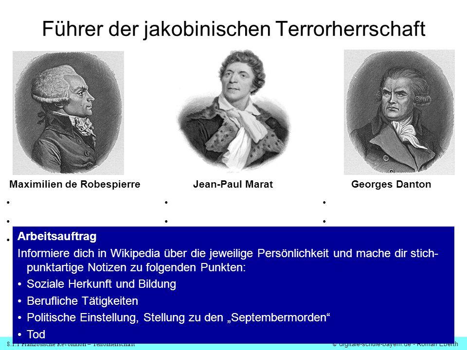 Führer der jakobinischen Terrorherrschaft