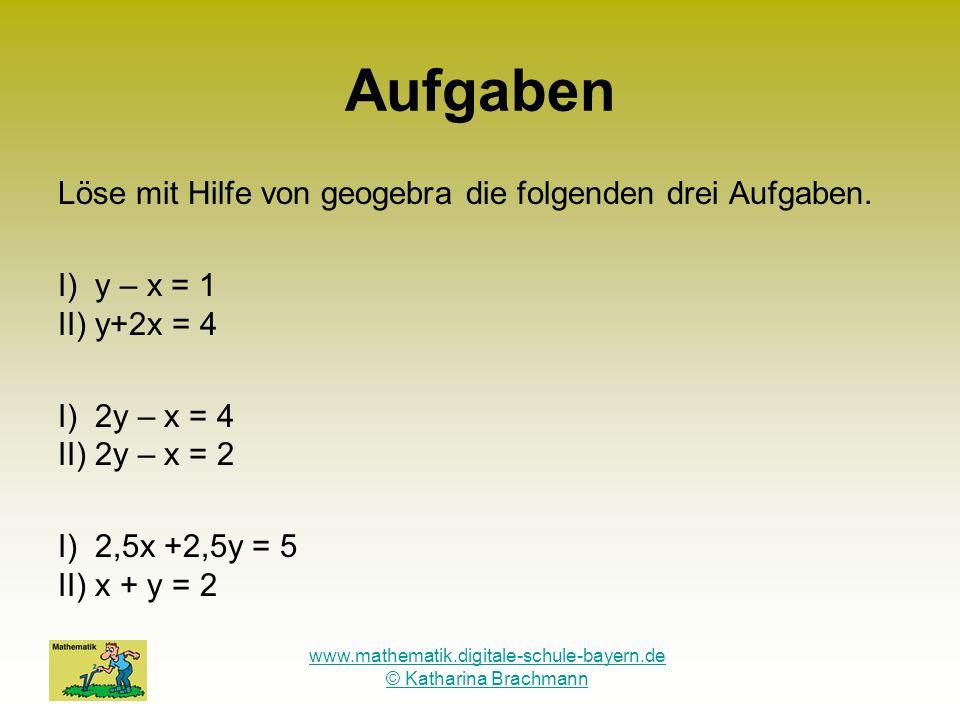 www.mathematik.digitale-schule-bayern.de © Katharina Brachmann
