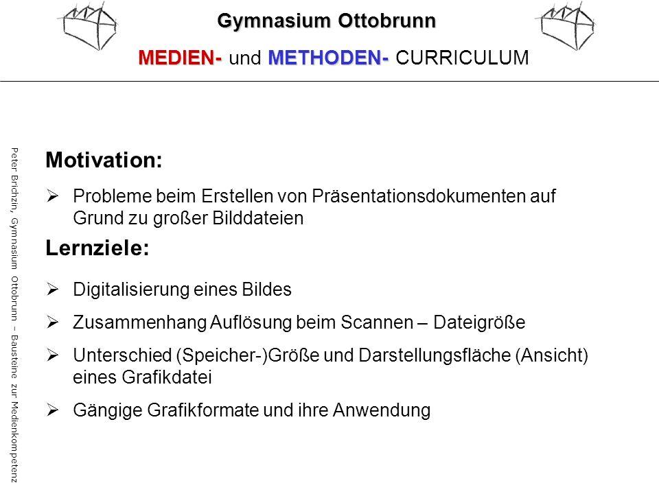 Motivation: Lernziele: Gymnasium Ottobrunn