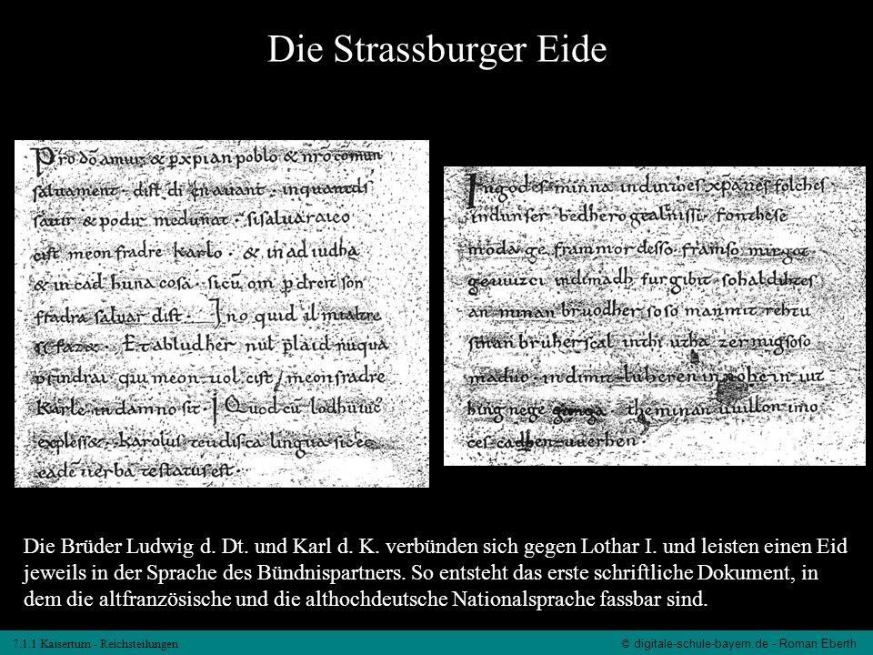 Die Strassburger Eide