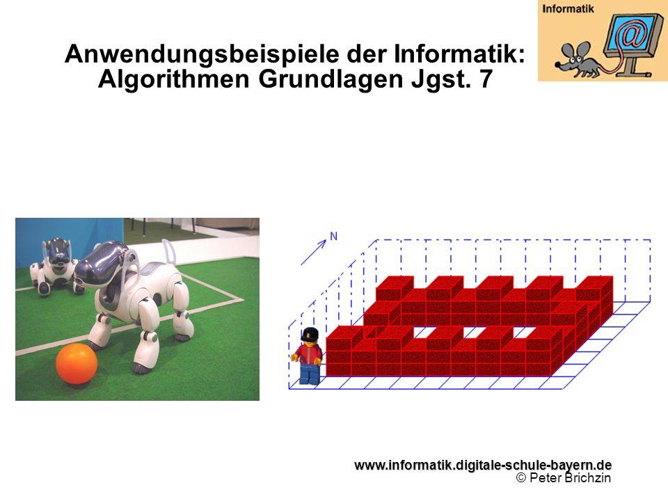 Anwendungsbeispiele der Informatik: Algorithmen Grundlagen Jgst. 7