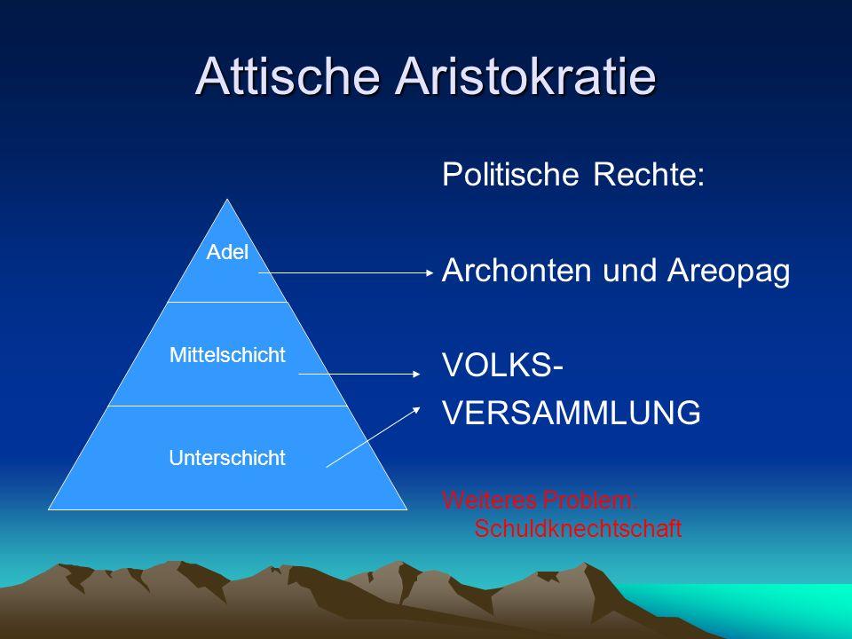 Attische Aristokratie