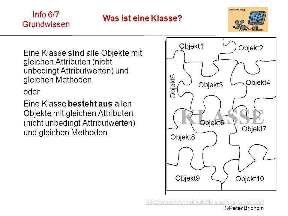 KLASSE Objekt1. Objekt2. Objekt3. Objekt4. Objekt7. Objekt6. Objekt8. Objekt9. Objekt10. Objekt5.