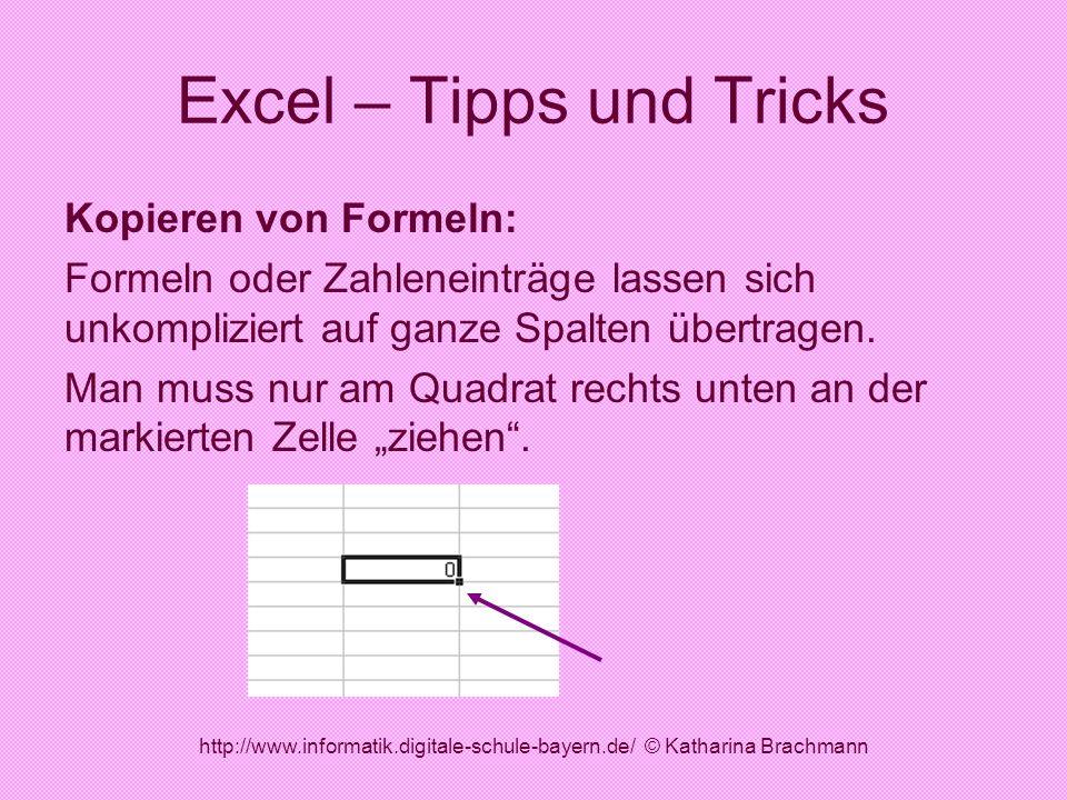 Excel – Tipps und Tricks