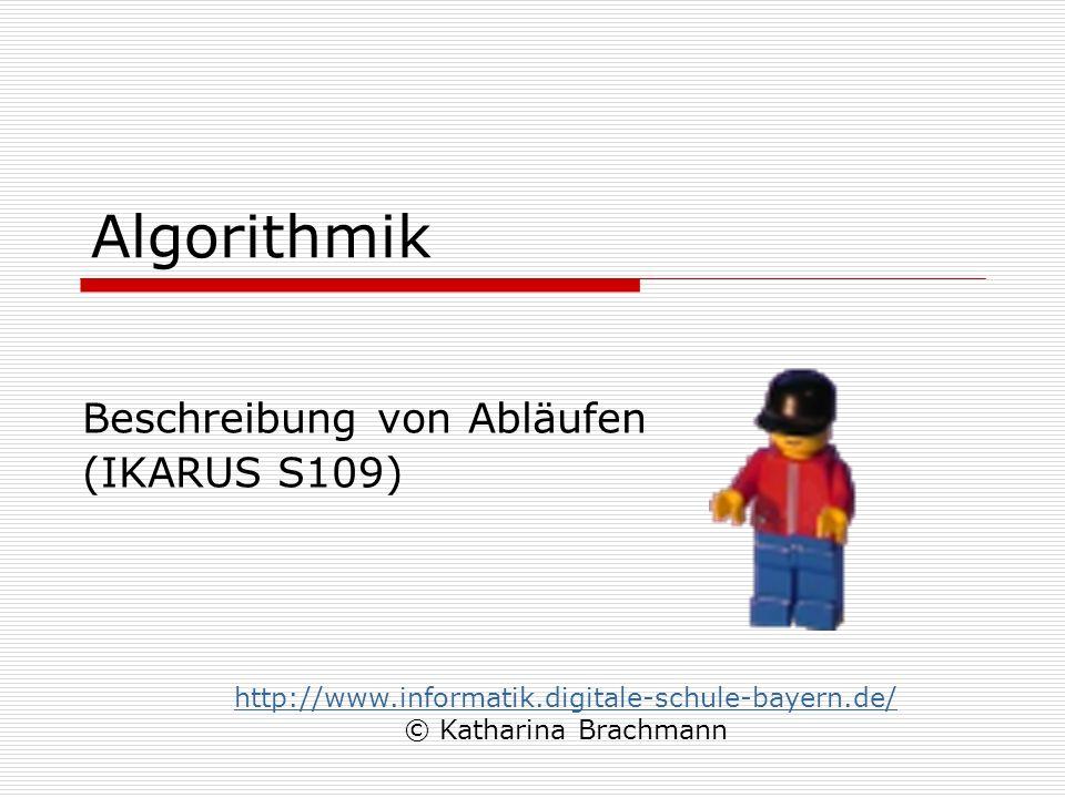 Beschreibung von Abläufen (IKARUS S109)