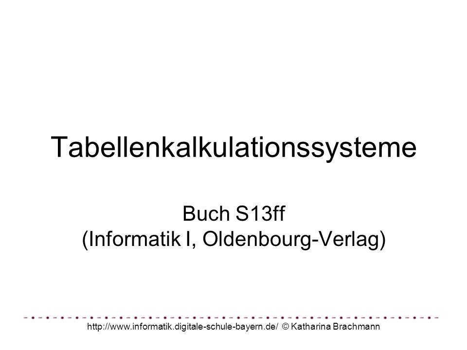 Tabellenkalkulationssysteme
