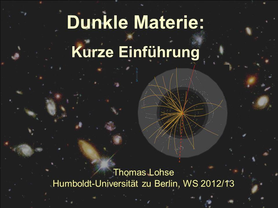 Humboldt-Universität zu Berlin, WS 2012/13