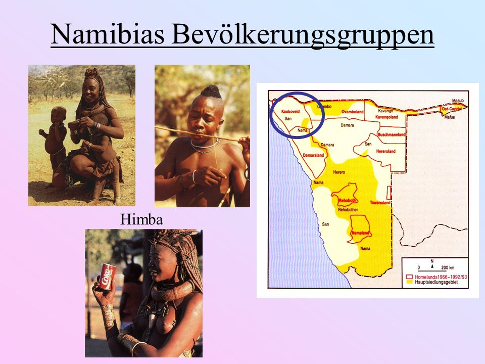 Namibias Bevölkerungsgruppen