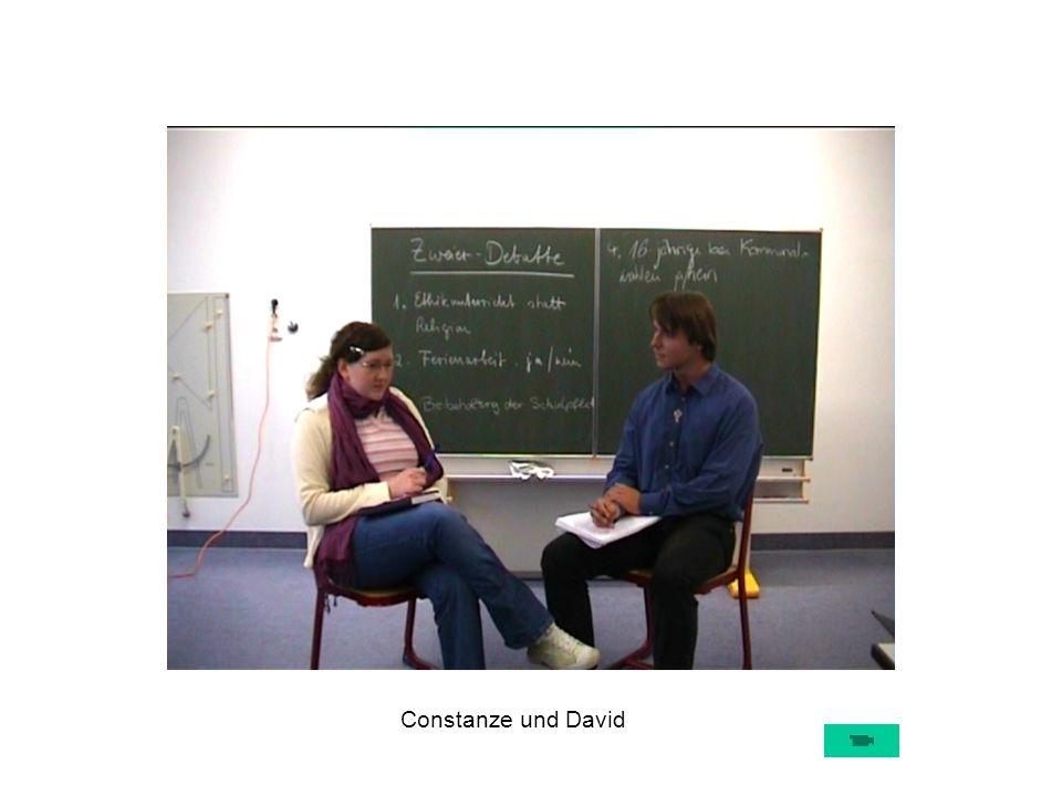 Constanze und David