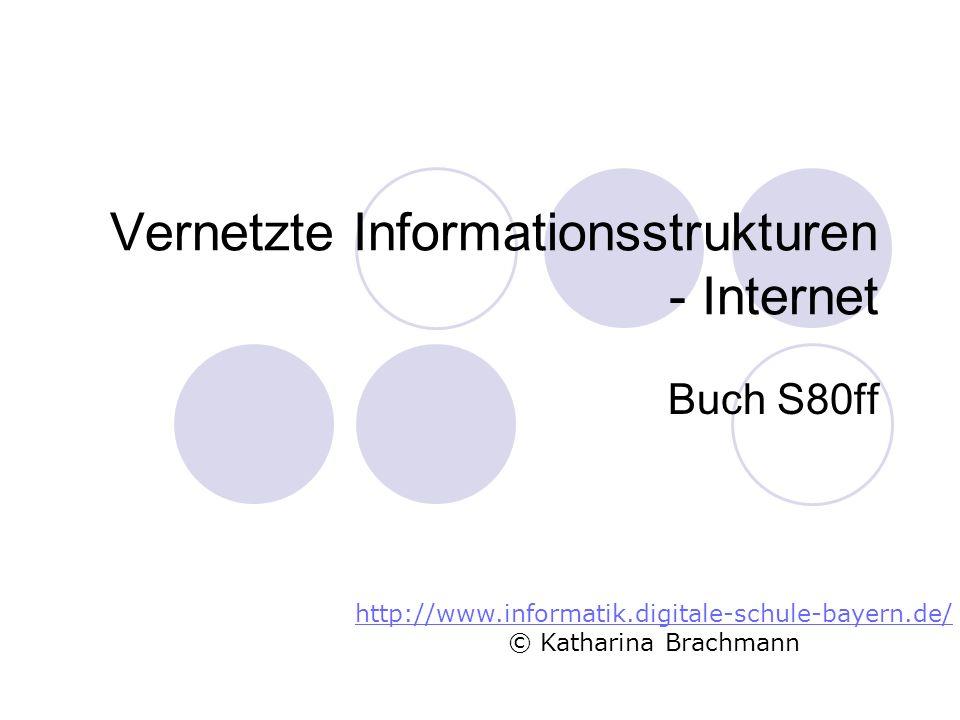 Vernetzte Informationsstrukturen - Internet