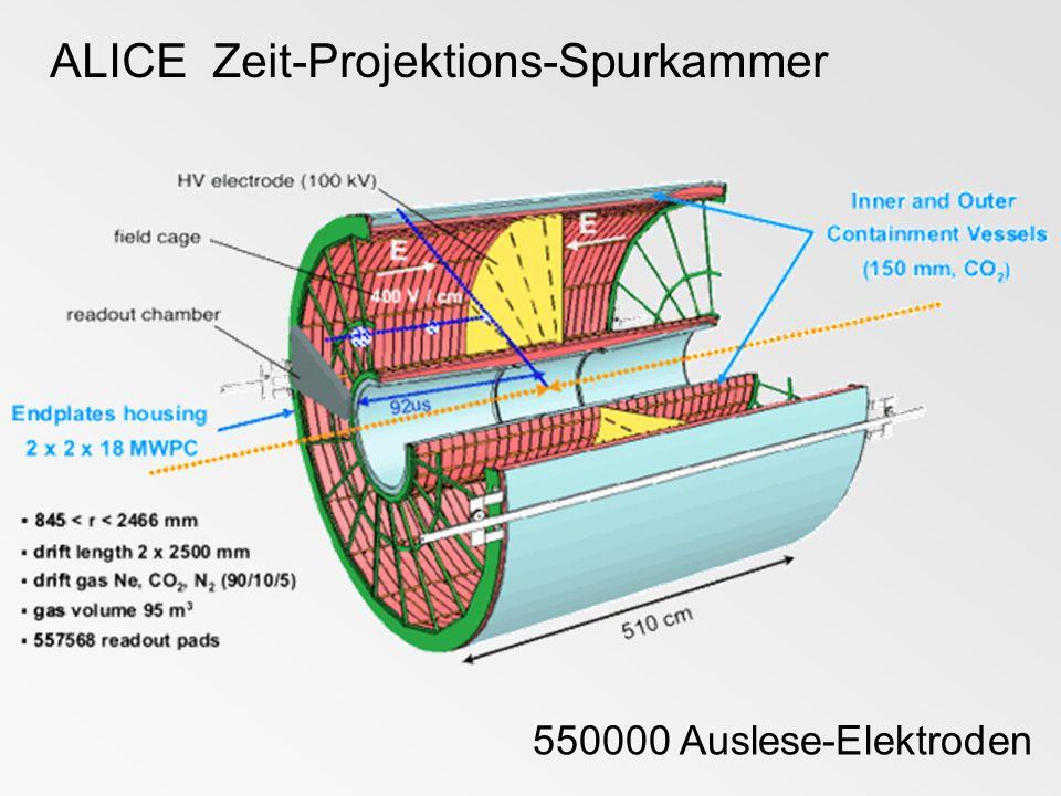 ALICE Zeit-Projektions-Spurkammer