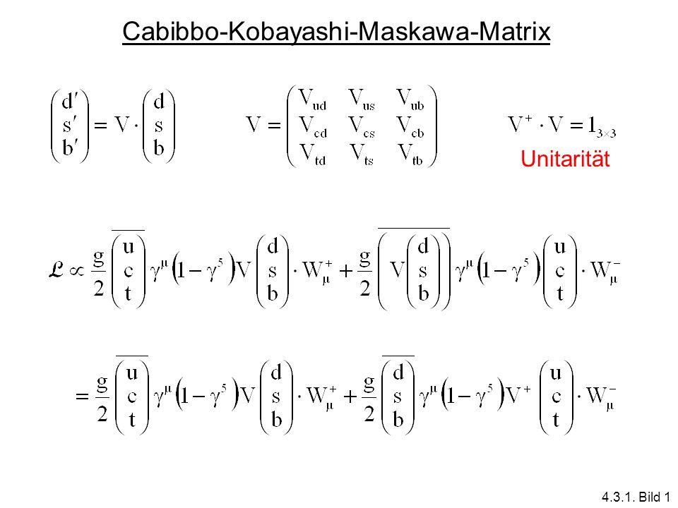 Cabibbo-Kobayashi-Maskawa-Matrix
