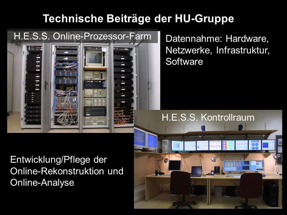 H.E.S.S. Online-Prozessor-Farm