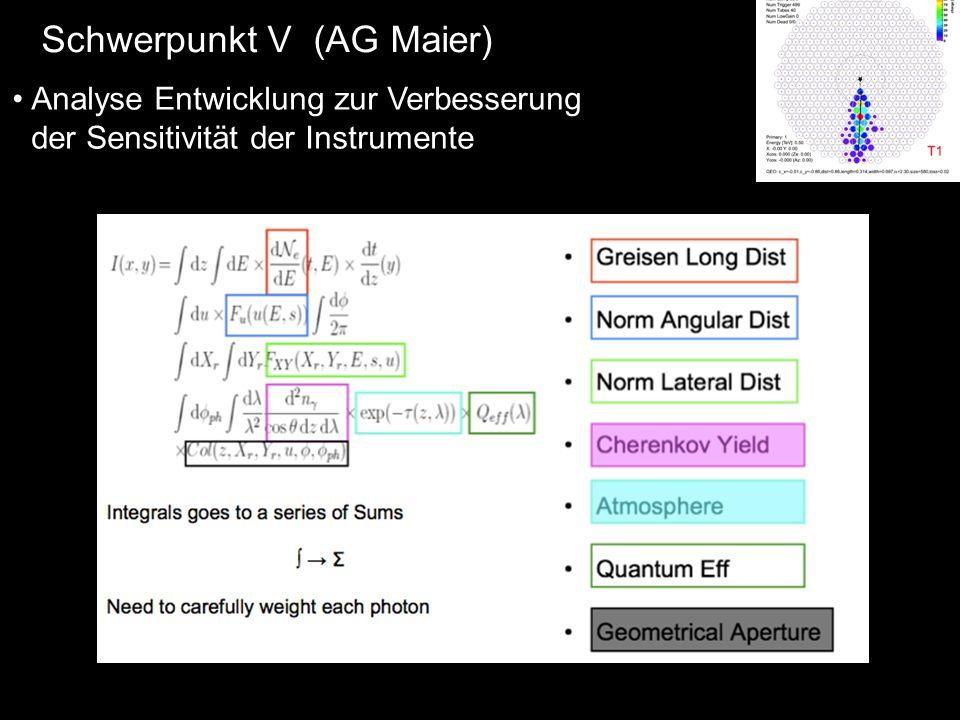Schwerpunkt V (AG Maier)