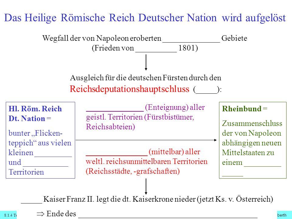 Das Heilige Römische Reich Deutscher Nation ...