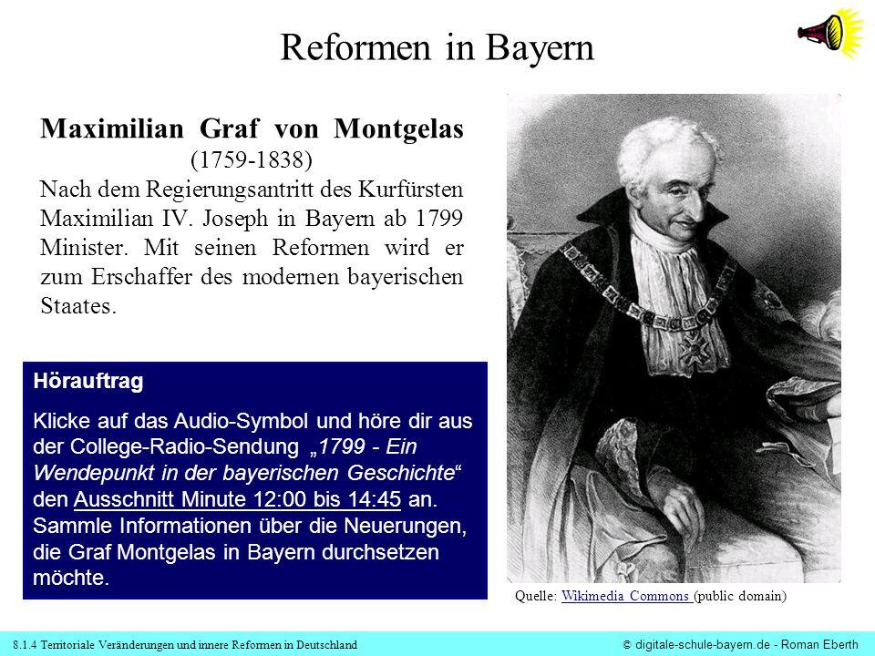 Reformen in Bayern