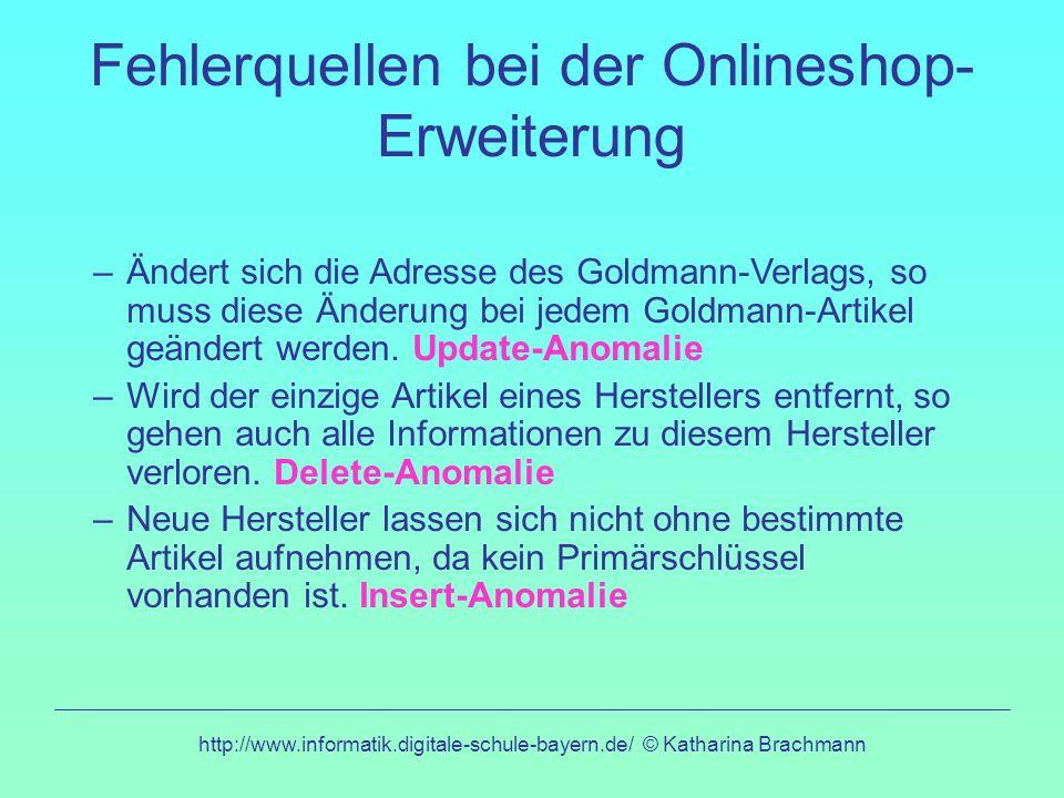 Fehlerquellen bei der Onlineshop-Erweiterung