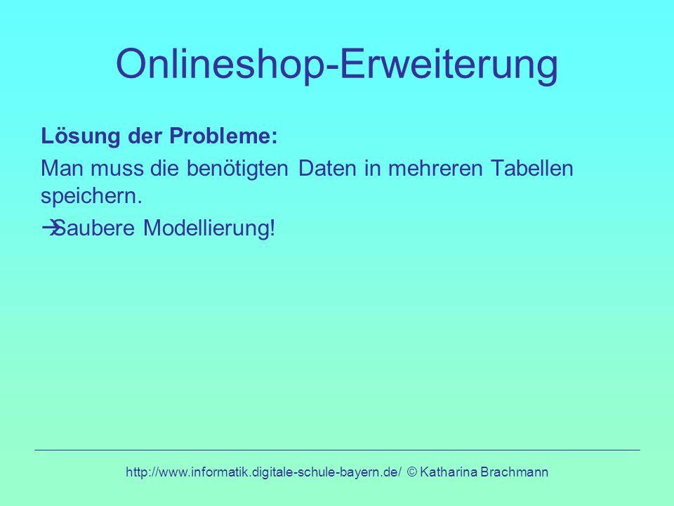 Onlineshop-Erweiterung