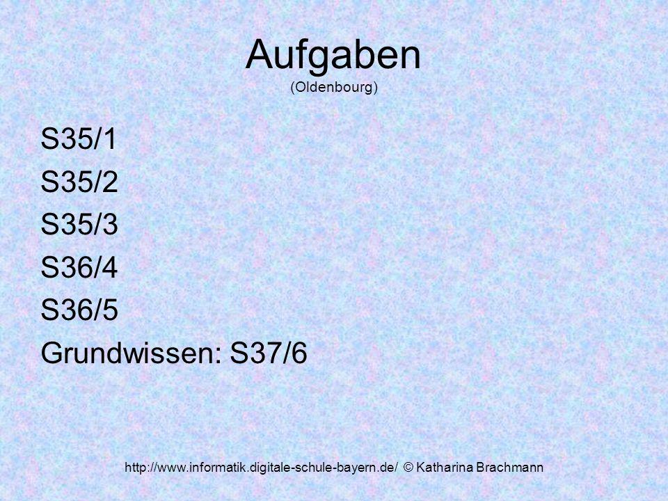 Aufgaben (Oldenbourg)