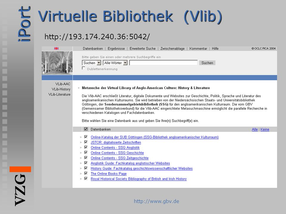 Virtuelle Bibliothek (Vlib)