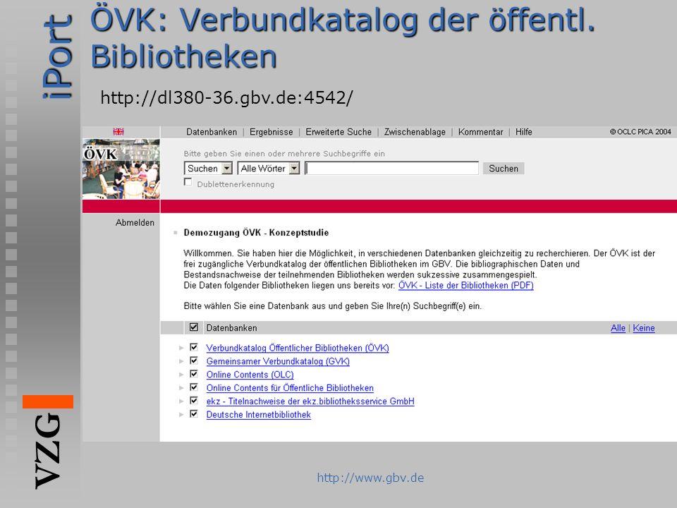 ÖVK: Verbundkatalog der öffentl. Bibliotheken