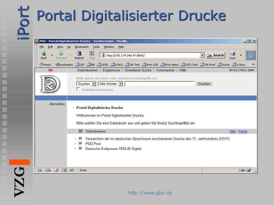 Portal Digitalisierter Drucke