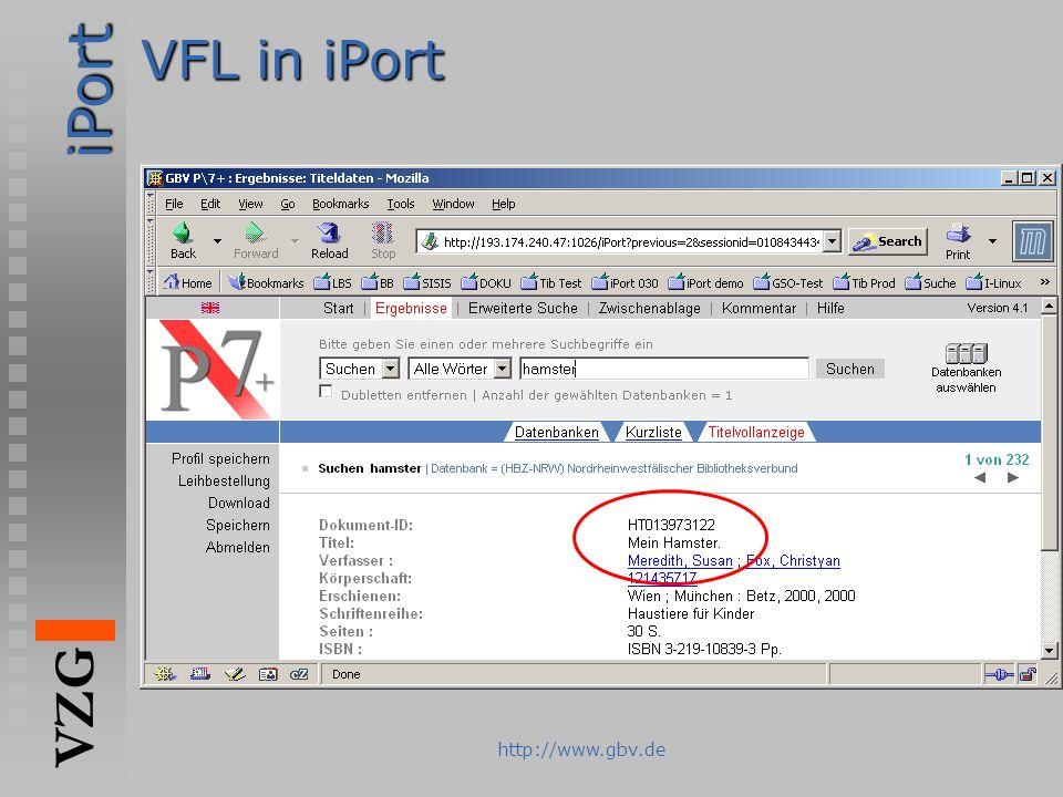 VFL in iPort http://www.gbv.de