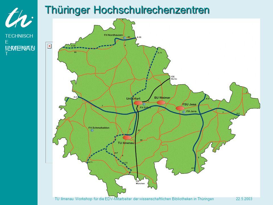 Thüringer Hochschulrechenzentren