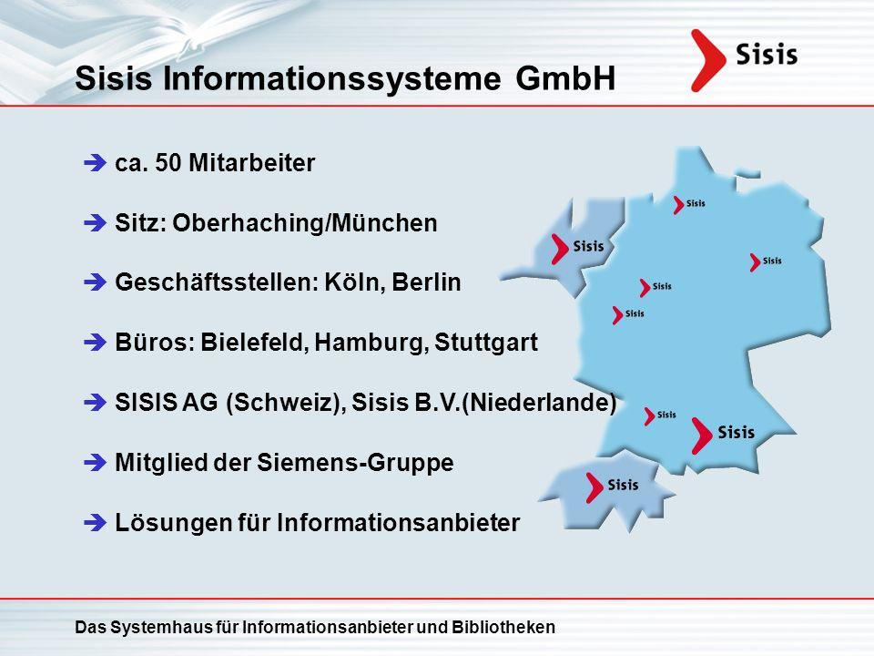 Sisis Informationssysteme GmbH