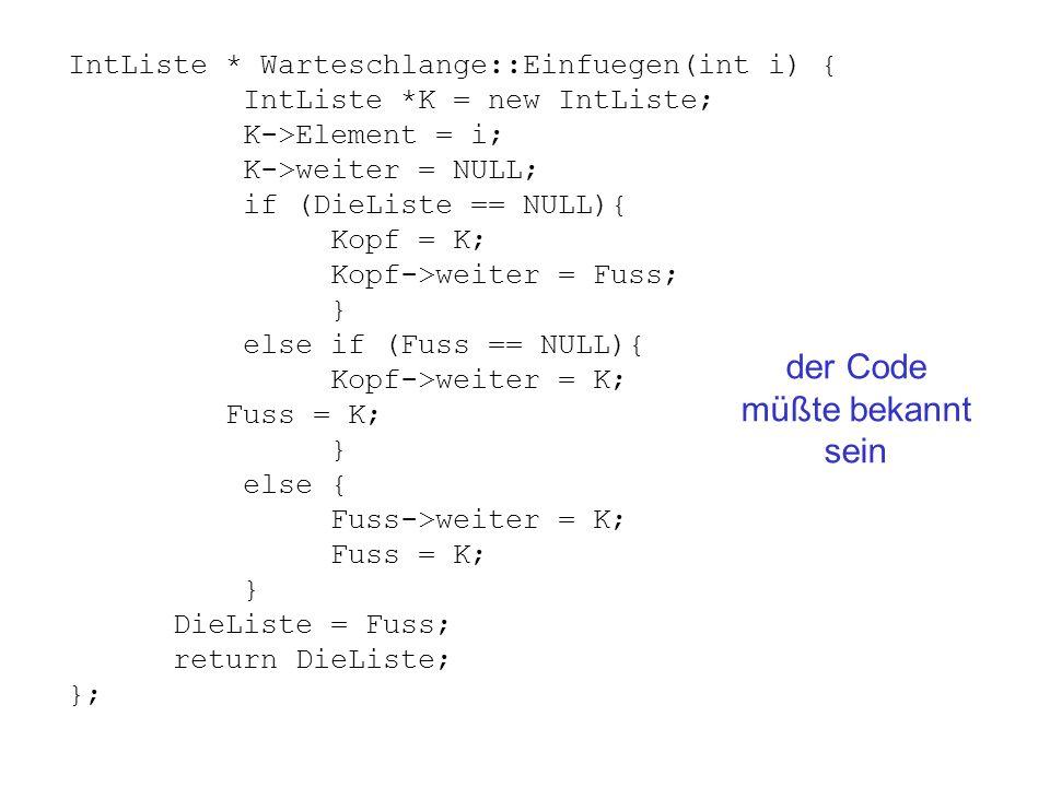 der Code müßte bekannt sein