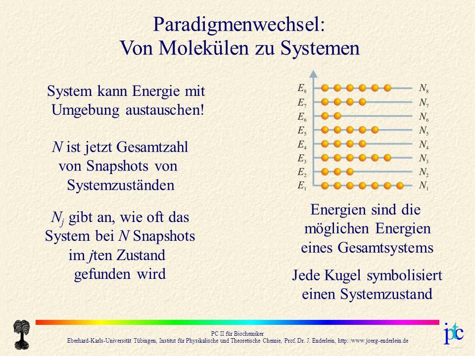 Von Molekülen zu Systemen