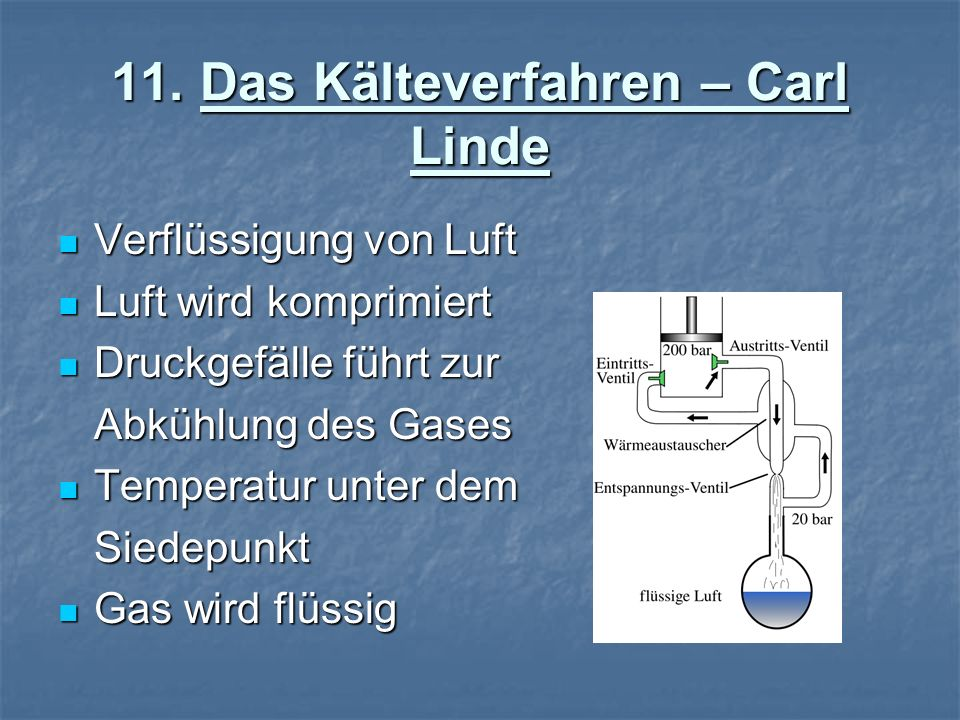 11. Das Kälteverfahren – Carl Linde