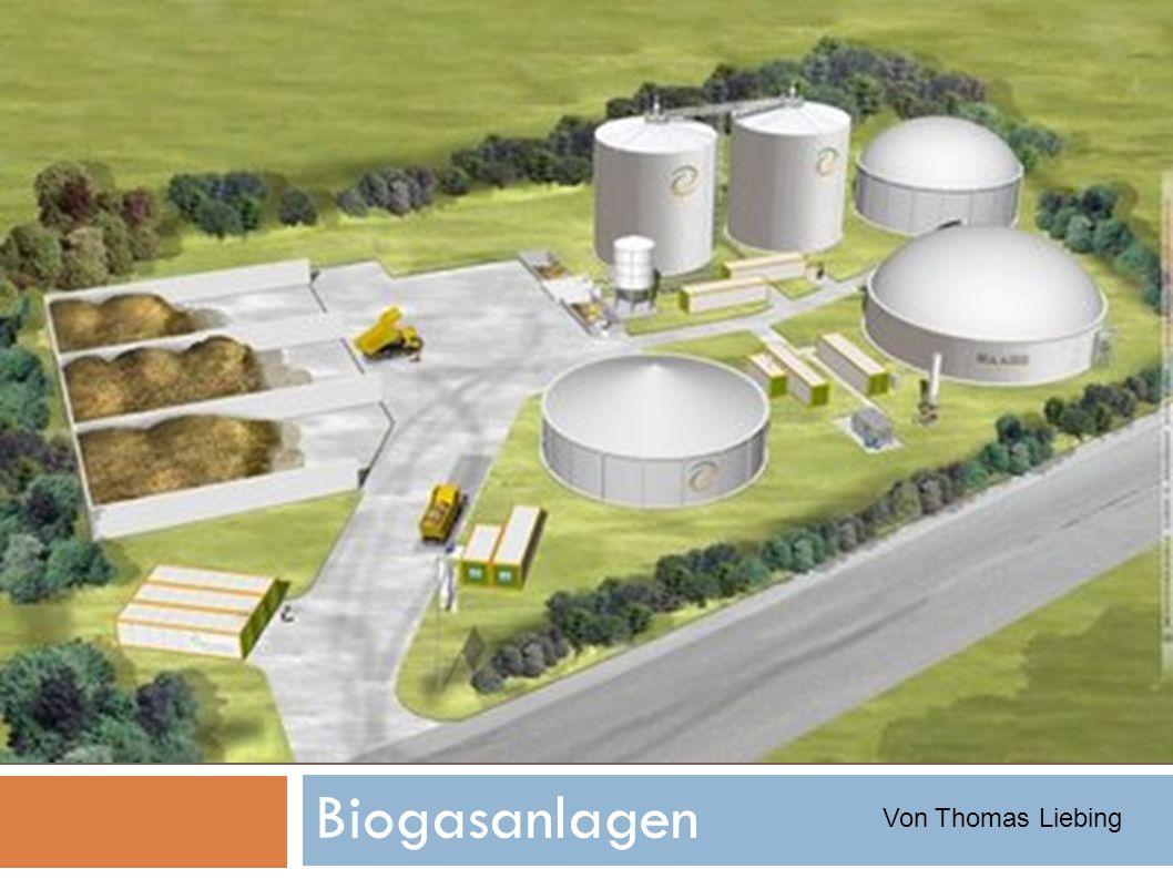 Biogasanlagen Von Thomas Liebing