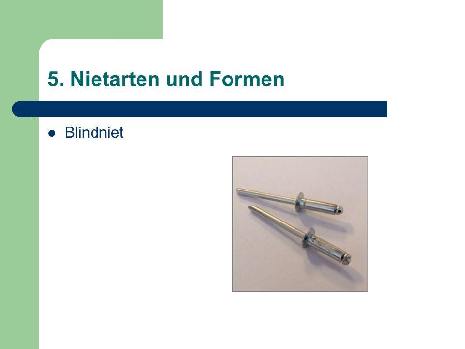 5. Nietarten und Formen Blindniet